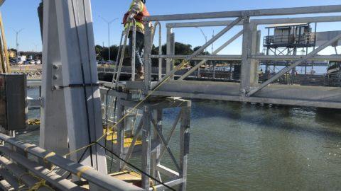 TX Department of Transportation – Ferry Landing Construction