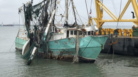 Shrimp Boat Salvage